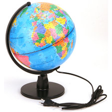 Globe met LED Licht Nederlands 25 cm