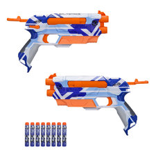 Nerf N-Strike Elite Battle Camo Splitstrike Blaster 2 Stuks + 8 Darts
