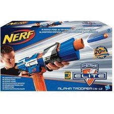 Nerf N-Strike Elite Alpha Trooper CS-12  Dartblaster