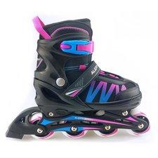 Alert Inline Skates Maat 39-42 Blauw/Roze/Zwart