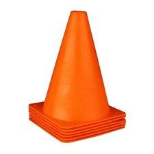 Pylonnen 18 cm 6 Stuks Oranje
