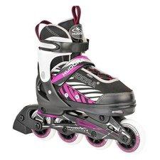Hudora Inline Skates 33-36 Zwart/Roze