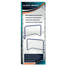 Alert Sport Mini Doelen 76x56x45 cm 2 Stuks Blauw/Wit
