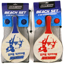 Alert Beachball Set Deluxe Hout