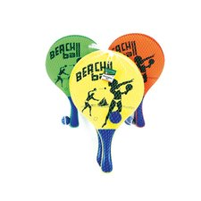 Alert Houten Beachball Set Assorti