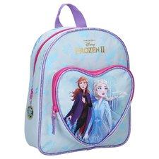 Disney Frozen 2 Rugzak met Voorvak Blauw/Roze/Paars