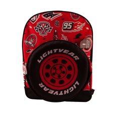 Disney Cars Lightyear Rugzak Rood/Zwart