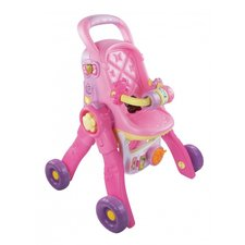 VTech Little Love 3in1 Poppenwagen + Geluid