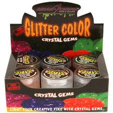 Putty 60 Gr Gems Glitter Assorti Display 12 Stuks