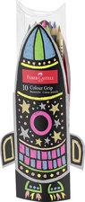 Faber Castell 10 Kleurpotloden Grip Raket Doos 3 Stuks