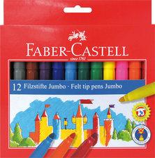 Faber Castell 12 Jumbo Viltstiften Doos 12 Stuks