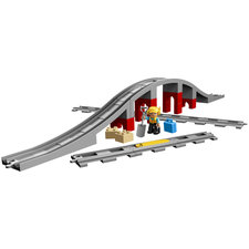 Lego Duplo 10872 Treinbrug en Rails 26-delig