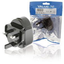 Valueline VLMP11955BUK Lader 2.4 A Usb Zwart