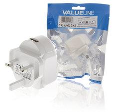 Valueline VLMP11955WUK Lader 2.4 A Usb Wit
