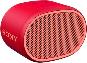 Sony SRSXB01R Bluetooth Speaker Rood