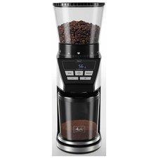 Melitta SST 1027-01 Calibra Koffiemolen met Weegschaal Zwart/RVS
