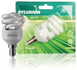 Sylvania Syl-0035218 Mlfs Spiro 827 E14 8 W Bl1