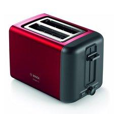Bosch TAT3P424 DesignLine Broodrooster Rood/Zwart