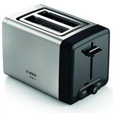 Bosch TAT4P420 DesignLine Broodrooster RVS/Zwart