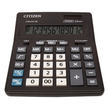 Citizen CI-CDB1201BK Calculator CDB1201BK Desktop BusinessLine Black