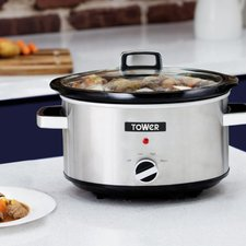 Tower T16018 Slowcooker 3.5L RVS