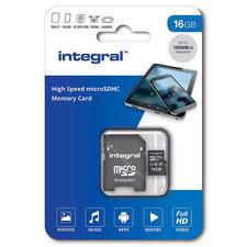 Integral Micro-sdhc V10 100mb/s 16gb