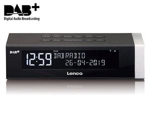Lenco CR-630 Klokradio DAB+ Alarm Zwart