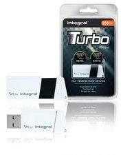 Integral INFD256GBTW3.0 Usb Stick Usb 3.0 256 Gb Wit/zwart