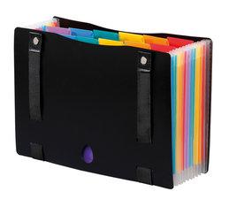 Viquel VI-998267-03 Documentenbox Verstelbaar Rainbow Class ® Met 12 Opbergvakken