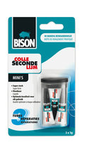 Bison BI-6309066 Secondelijm Mini 3x1 Gram
