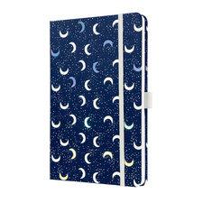 Sigel SI-JN321 Notitieboek Jolie Beauty A5 Hardcover Gelinieerd 'Dark Moon'