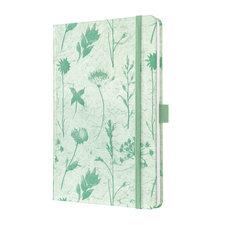 Sigel SI-JN327 Notitieboek Jolie Beauty A5 Hardcover Gelinieerd 'Moss Botanical'