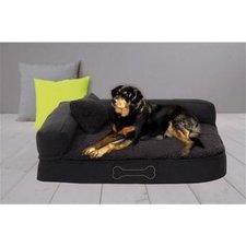 Sun Garden Pallina Orthopedisch Hondenkussen 80x60x25 cm Antraciet