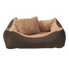 Sun Garden Luxe Hondenmand Lucky + Kussen 100x90x30 cm Bruin/Beige