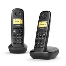 Gigaset A270 Duo DECT Telefoon Zwart