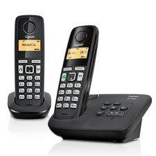 Gigaset AL220A Duo DECT Telefoon + Antwoordapparaat Zwart