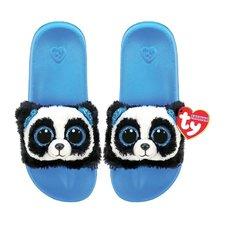 TY Fashion Slippers Panda Bamboo Maat 32-34 6 Stuks