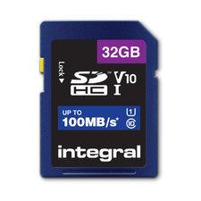 Integral Sdhc V10 100mb/s 32gb