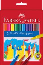 Faber Castell 12 Viltstiften Doos 10 Stuks