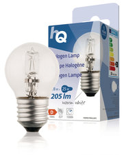 Hq Hqhe27 ball001 Halogeenlamp Kogel E27 18 W 205 Lm 2 800 K