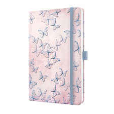 Sigel SI-JN313 Notitieboek Jolie Beauty A5 Hardcover Gelinieerd Paars/lila