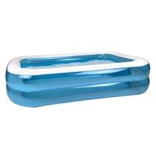 Splash Opblaasbare Familie Zwembad 211 cm Blauw/Wit