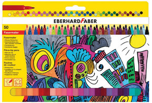 Eberhard Faber EF-551150 Viltstift Uitwasbaar