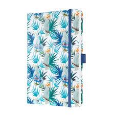 Sigel SI-JN325 Notitieboek Jolie Beauty A5 Hardcover Gelinieerd 'Indigo Tropics'