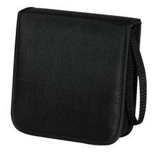 Hama Cd Wallet Nylon 20 Zwart