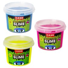 Squishy Fluffy Slime Emmer 1,5 Kilo Assorti