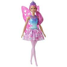 Barbie Dreamtopia Feeënpop + Accessoires Roze