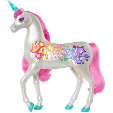 Barbie Dreamtopia Magische Eenhoorn met Borstel en Licht