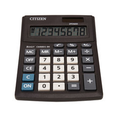 Citizen CI-CMB801BK Calculator Business Line, Zwart