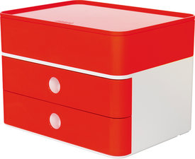 HAN HA-1100-17 Smart-box Plus Allison 2 Lades En Box Kersen Rood